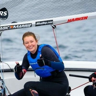 Year 13 sailor Roisin earns sought-after offers from top choice universities
