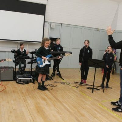 School of Rock – Prep School pupils get taste of life in a rock band