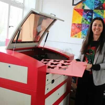 Truro High launches brand-new Senior School laser cutter jewellery club
