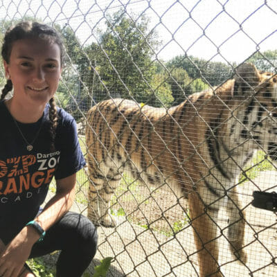Aspiring conservationist, Fiona, earns offers from every university she applied to