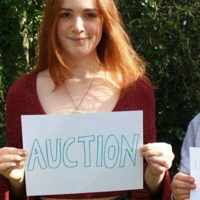Hours to go until Head Girl Team Carbon Neutral Appeal Online Auction
