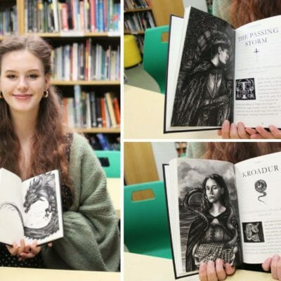 17-year-old Truro High student writes and illustrates book to help children deal with anxiety