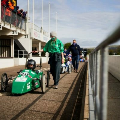 Truro High engineers make their mark on the world-famous Goodwood Motor Circuit with Top 15 place