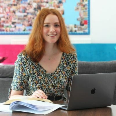 Former Head Girl Sage celebrates offers to read English Literature from UK Top 10 universities