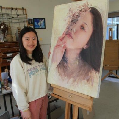 Year 13 Emma receives offers to study at UK Top 10 art colleges