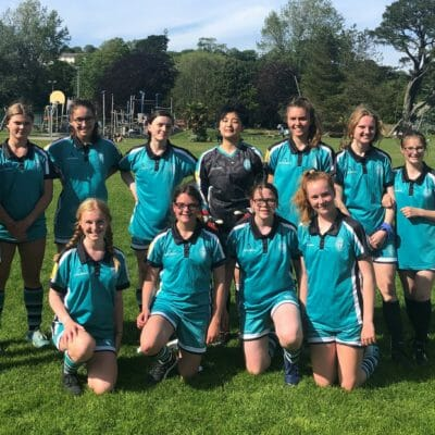 Truro High School's under 16 football team wins its place in County Cup Finals