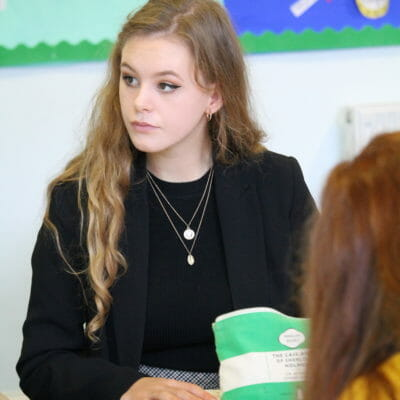 Year 13 Lowena receives offers to read English at UK Top 10 Russell Group universities