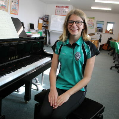 Year 8 Lauren selected to perform in ABRSM's Global High Scorers concert