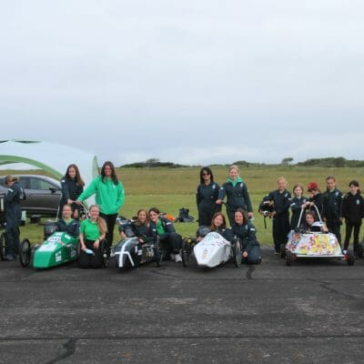 Truro High Greenpower teams sweep honours board at Predannack Circuit with championship title win