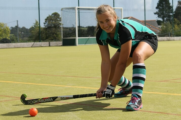 Truro High Year 11 Hockey player, Amy Shaw